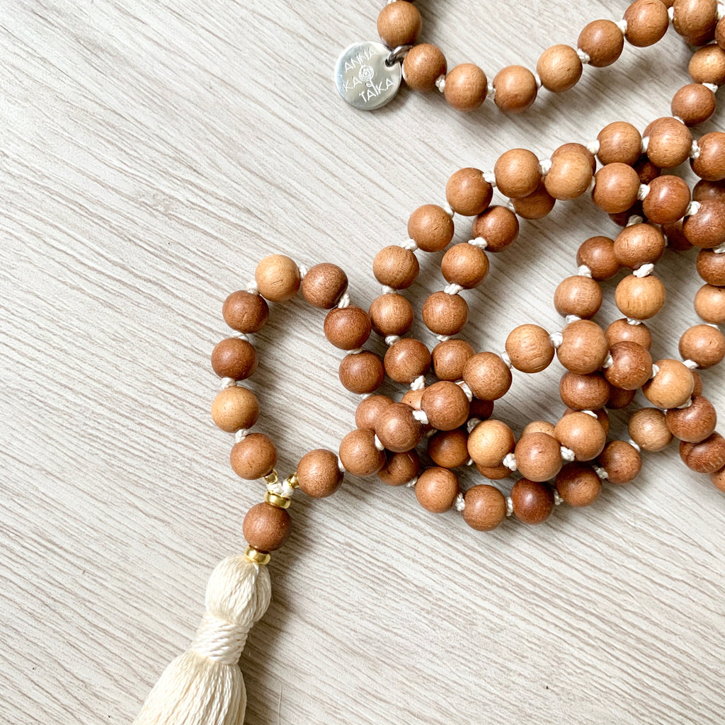 Simple Sandalwood Mala