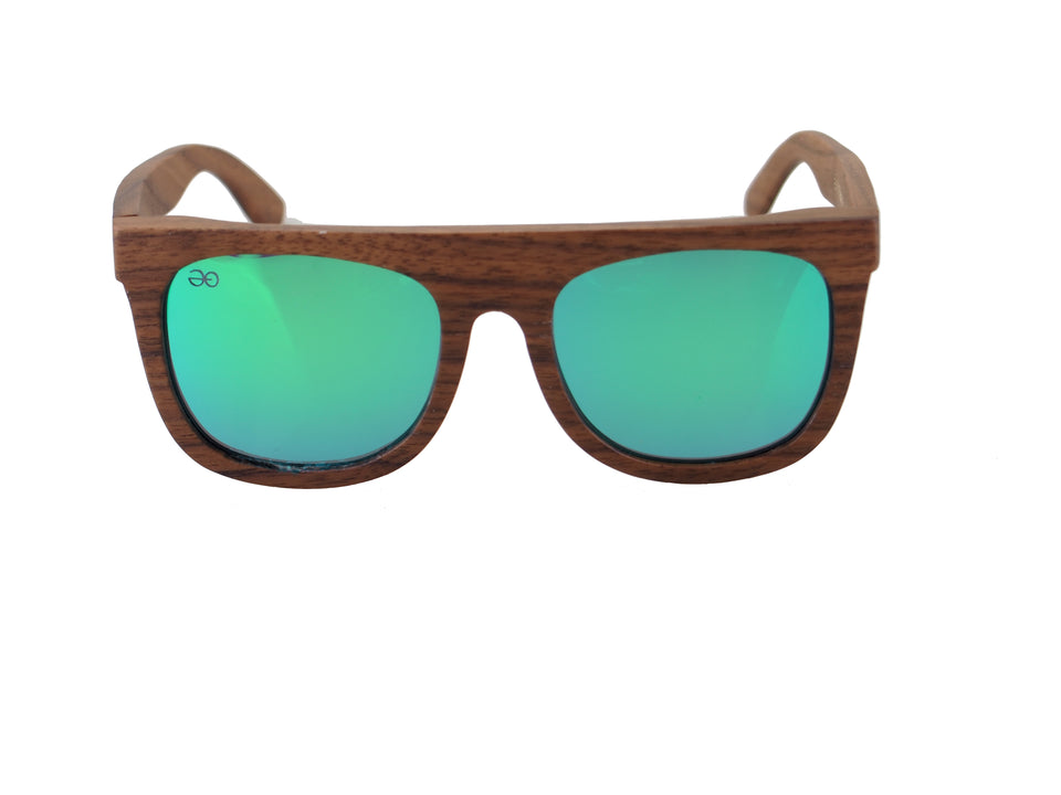 WOOD RECTANGLE POLARIZADAS UNISEX