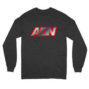 "ABN Fade Logo ""Charcoal"" Long Sleeve"