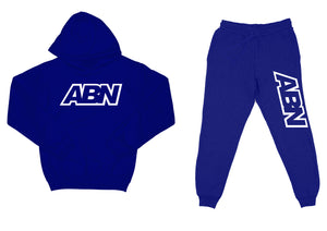 "ABN ""Top and Bottom"" Royal Blue SweatSuit"