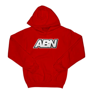 "Chenille ABN Logo ""Red"" Hoodie"