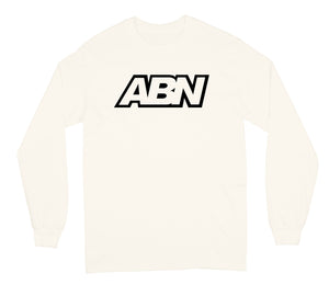 "ABN Black Logo ""Cream"" Long Sleeve"