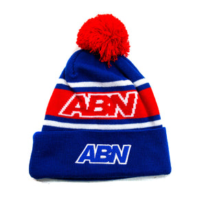 "ABN ""Royal/Red"" Beanie"