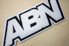 "Load image into Gallery viewer, Chenille ABN Logo ""Black"" Hoodie"