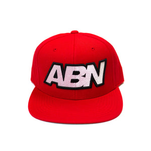 "ABN ""Red"" Snapback Hat"