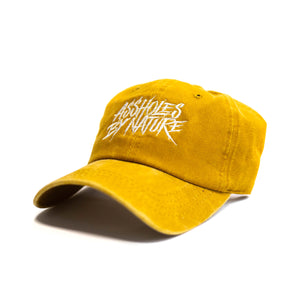 "Assholes By Nature ""Mustard"" Dad Hat"