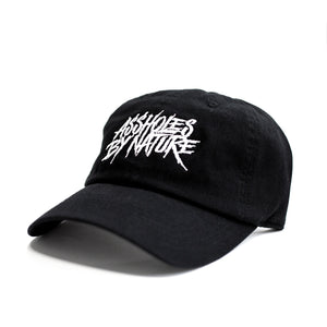 "Assholes By Nature ""Black"" Dad Hat"