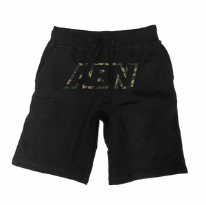 "ABN Camo Logo ""Black"" Shorts"