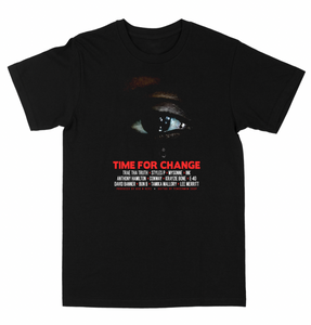 "Time For Change ""Black""  Tee"