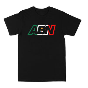 "ABN ""Mexico Logo"" Black Tee"