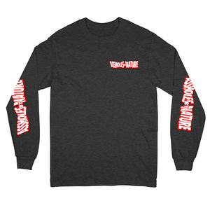 "Assholes By Nature Swang ""Charcoal"" Long Sleeve"