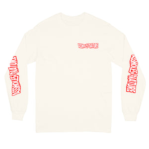 "Assholes By Nature Swang ""Cream"" Long Sleeve"