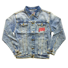 "Load image into Gallery viewer, Assholes By Nature ""Red Logo"" Denim Jacket"