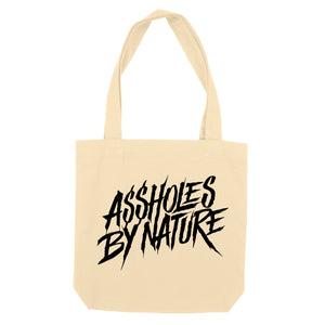 "Assholes By Nature ""Beige"" Tote Bag"