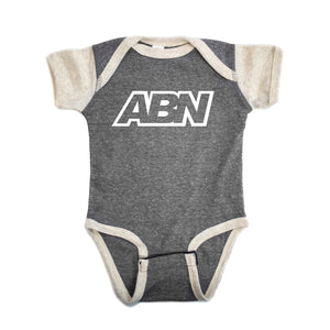 "ABN ""Heather Grey/Sand"" Premium Onesie"