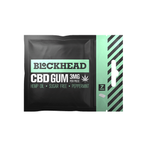 BLOCKHEAD 3mg CBD Gum – 12 packs