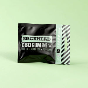 BLOCKHEAD 3mg CBD Gum – 6 packs