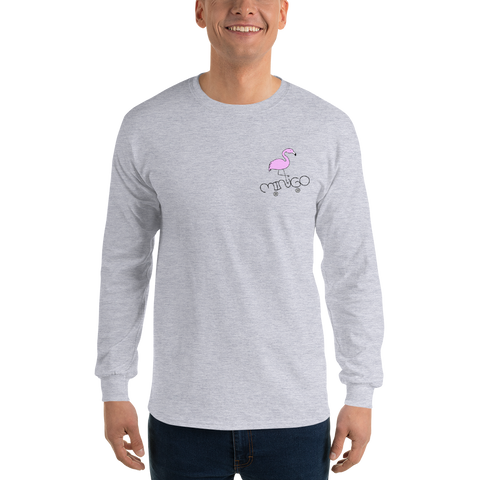 Simple Mingo Long Sleeve Unisex T-Shirt