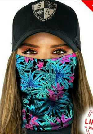 Tubular Bandana Face Shields and Masks