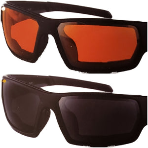 Bobster Tread Rx Ready Amber Riding Glasses