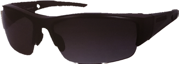 Rival 2 Matte Black Z87 Sunglasses w/Anti-Fog Smoked Lenses