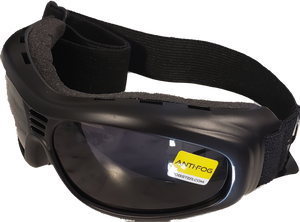 Touring 2 Rubber Rx Ready Goggles with Smoked Lenses