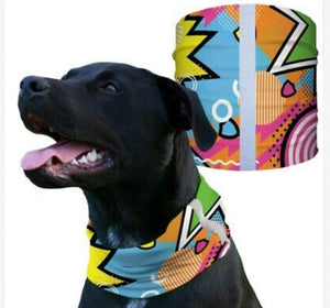 """KAPOW"" Reflective Dog Shield"