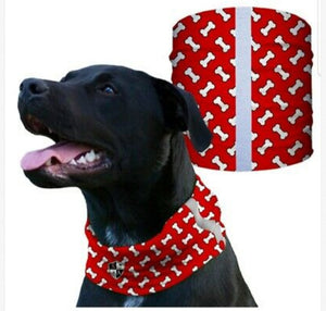 """RED BONES"" Reflective Dog Shield"