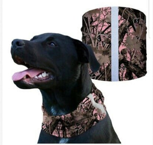 """PINK FOREST CAMO"" Reflective Dog Shield"