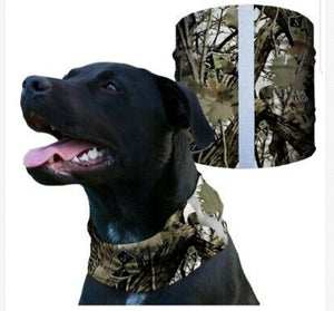 """SNOW CAMO"" Reflective Dog Shield"