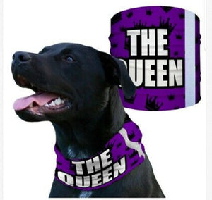 """THE QUEEN"" Reflective Dog Shield"