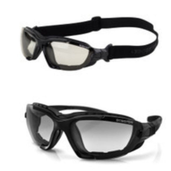 Renegade Sunglass/Goggle w/Clear and Smoked Lens by Bobster