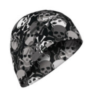 Sportflex All Over Skulls Helmet Liner / Beanie