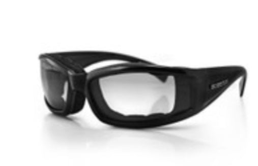 Invader Transitional Glasses Anti-Fog Clear to Smoked Lense by Bobster
