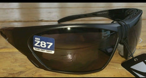 Crossover Matte Black Sunnglasses & Goggles with Smoked Lenses