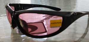 Charger ANSI Z87 Sunglasses with Rose Lense by Bobster