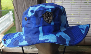 Aqua Blue Fishing Hat