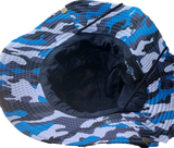 Blue Military Camo Gilligan Hat