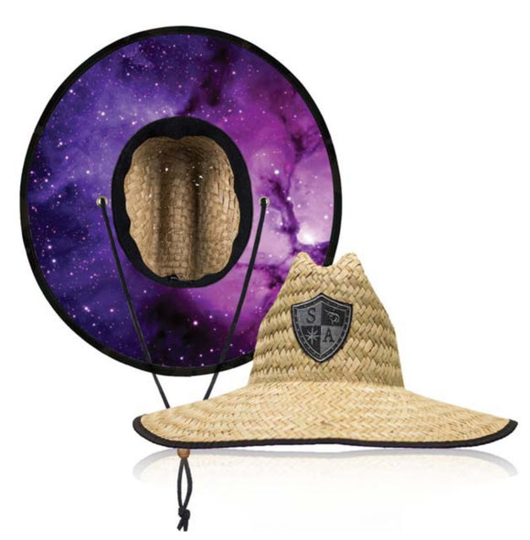 Nebula Under Brim Straw Hat