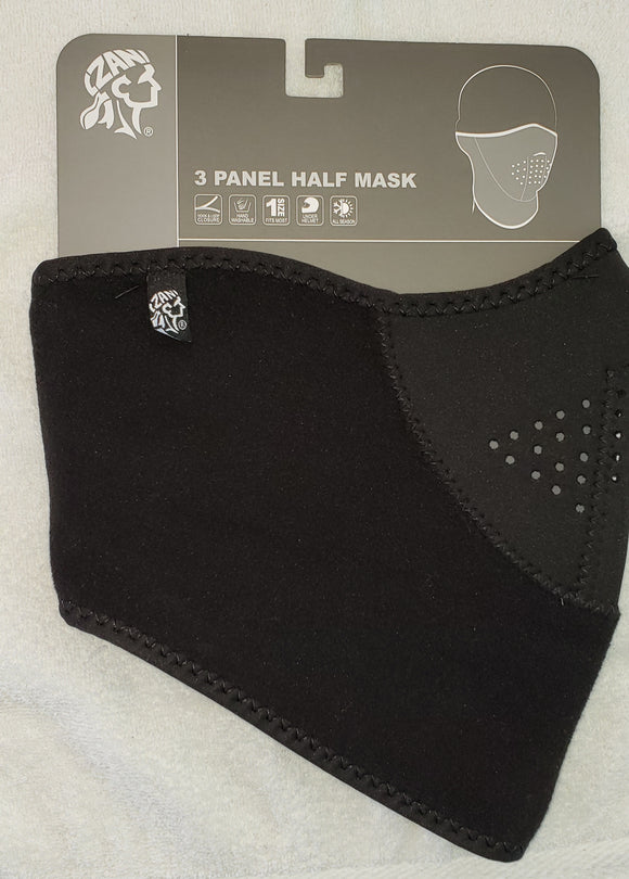 3 Panel Half Mask Fleece Neck