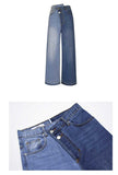 Women High-Rise Wide Leg Cropped Jeans
