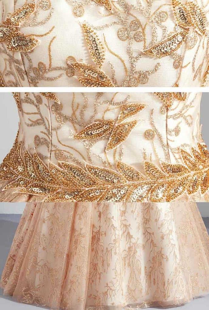 A-Line Princess Sweetheart Floor-Length Prom Dresses