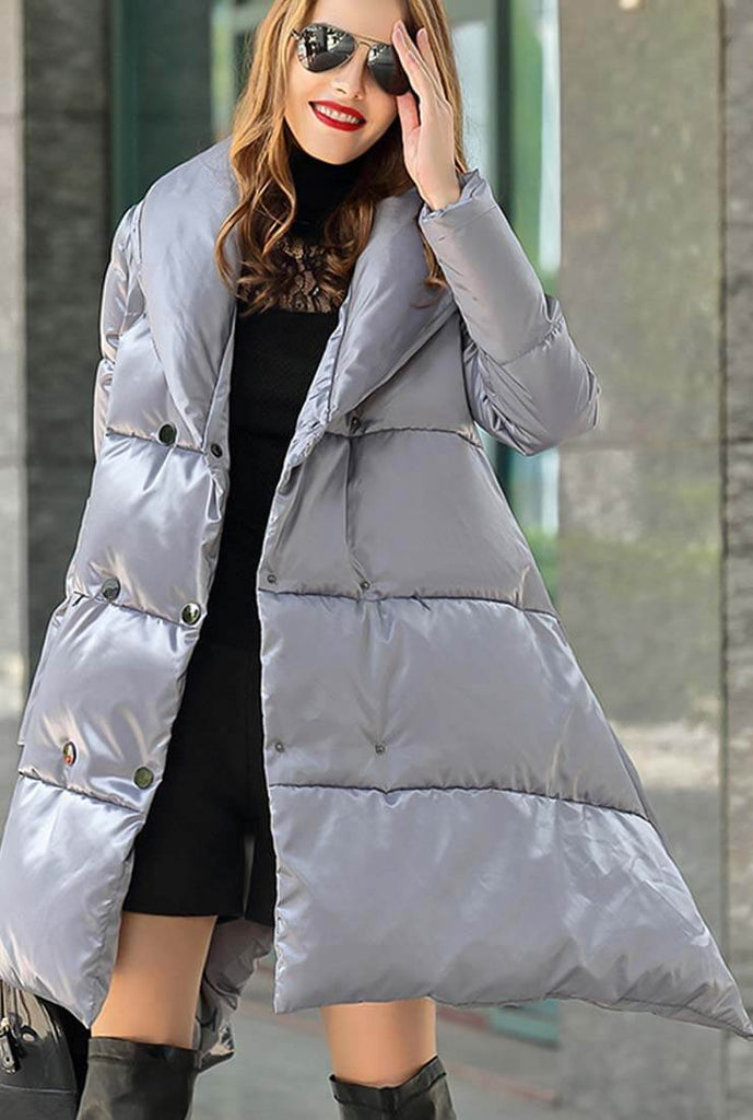 A-line Loose Down Puffer Jacket