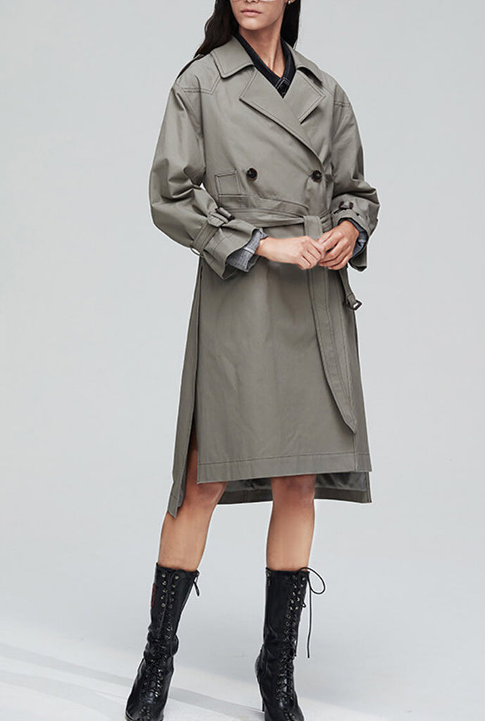Casual London Fog Trench Coat