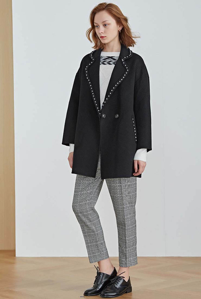 Chanel Double-faced Cashmere Short Coat