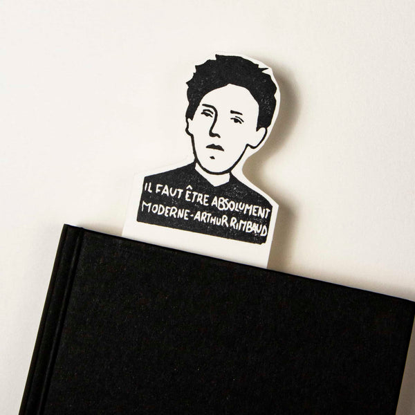 arthur rimbaud bookmark
