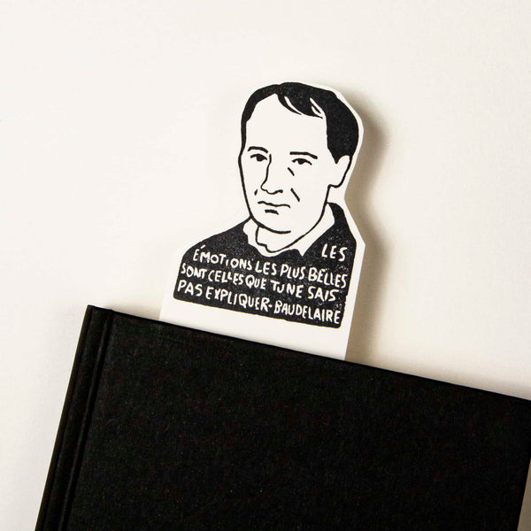 charles baudelaire bookmark