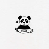 panda exlibris custom for kids