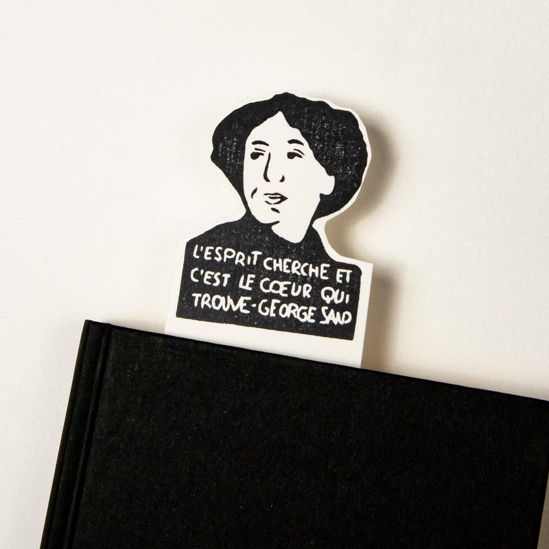 george sand bookmark