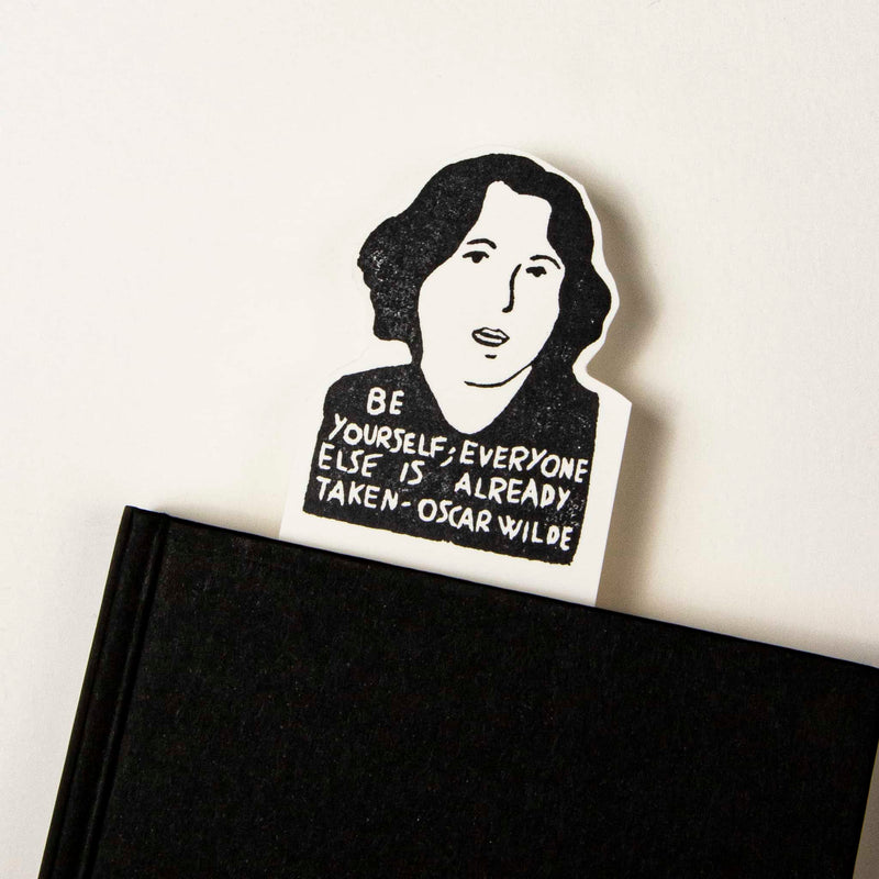 oscar wilde bookmark